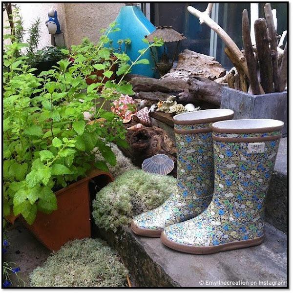 Bottes de pluie Liberty fleurs Aigle