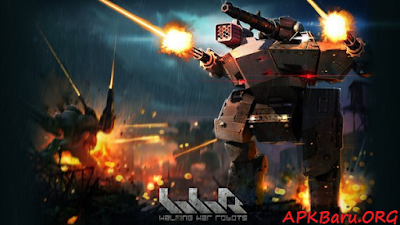 Walking War Robots v1.9.0 Apk+Data MOD Terbaru (Unlimited Ammo)