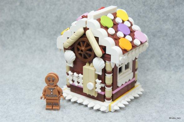 nobu_tary flickr esculturas de lego comidas casa de doce