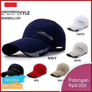 NAG084 Topi Baseball Topi Golf Outdoor Olahraga Murah Bmgshop