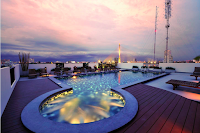 Swimming pool of Navalai Boutique Resort in Bangkok, Thailand