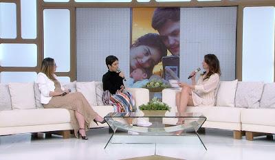 Letícia Almeida, sua advogada Michelle Farias e Luciana Gimenez durante SuperPop ao vivo - Crédito: Divulgação/RedeTV!