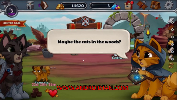 Castle Cats Mod Apk Unlimited Gold Gems