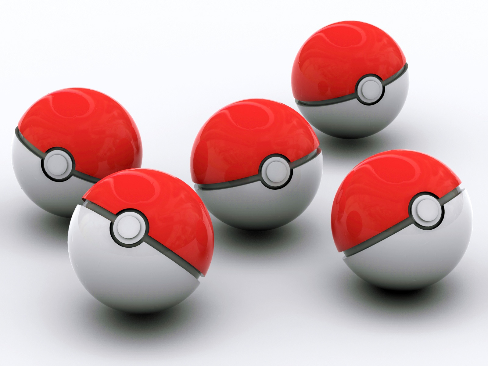 HD Pokeballs 3D Wallpaper-High Definition Wallpapers Stock