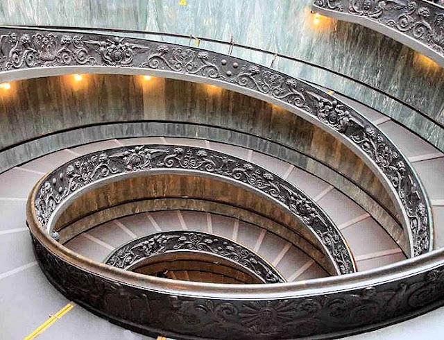 Scala elicoidale escalier cilimaçon, vatican