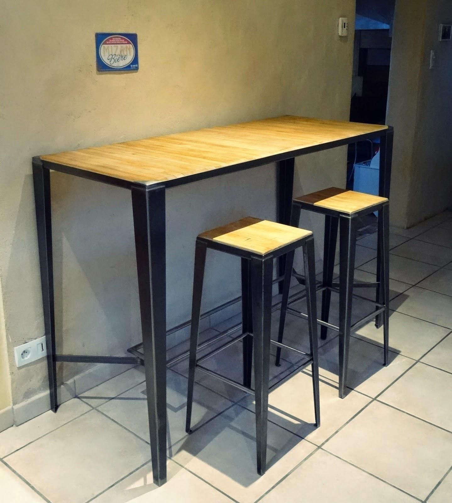 Ferronnerie m tallerie serrurerie 79 deux s vres l 39 art du for Longue table en bois