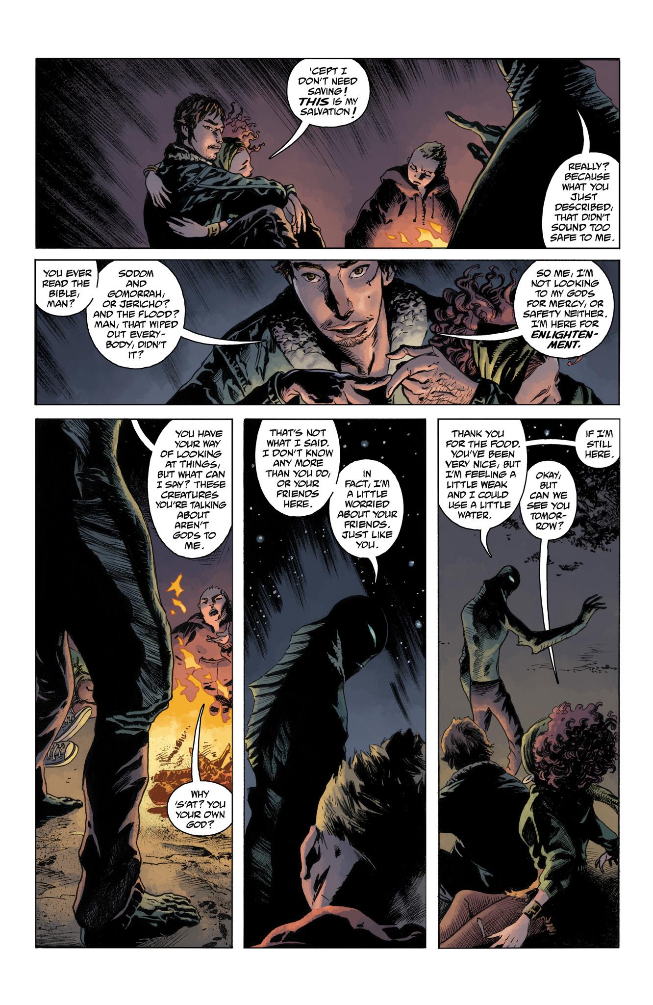 Read online Abe Sapien comic -  Issue #4 - 19