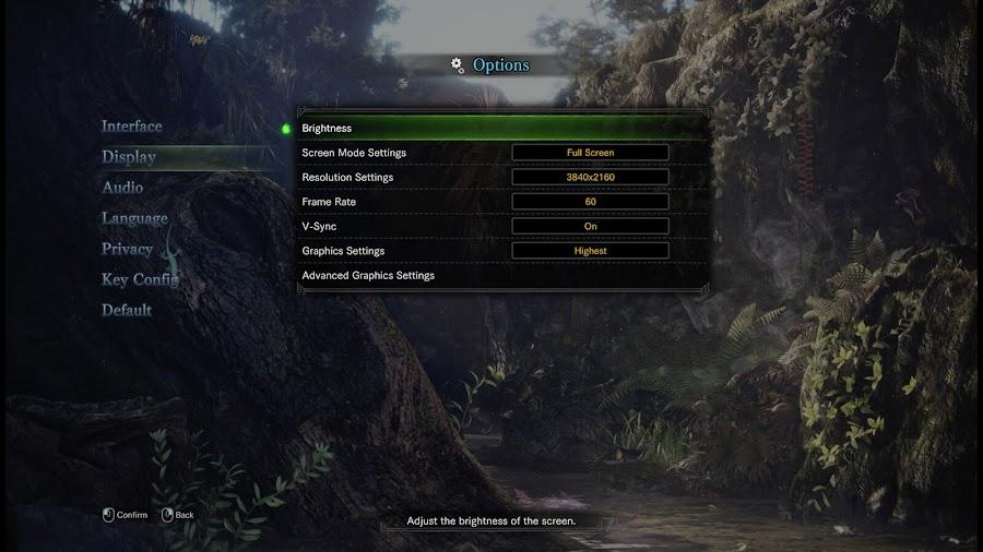 monster hunter world pc specs steam