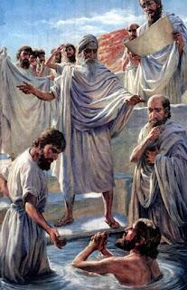 O batismo de Jesus - prática normal entre os essênios