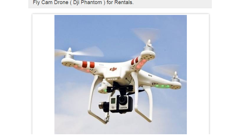 DJI Phantom 2 Rental - Kerala - Trivandrum