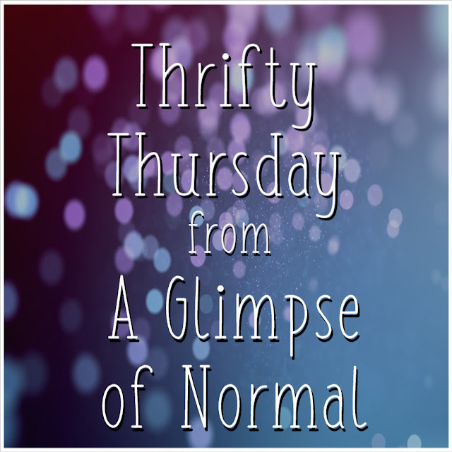 It's Thrifty Thursday and that means I am sharing a money saving tip with you to ease your budget and save you cash.  Check it out on A Glimpse of Normal!