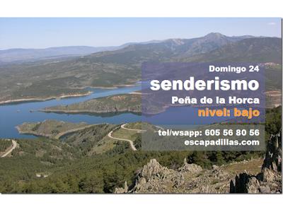 El Berrueco y Peña de la Horca, con el grupo de senderismo - escapadillas.com