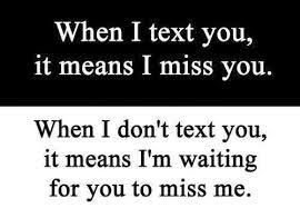 Miss u messages