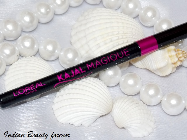 L'Oreal paris Magique Kajal Black Review, swatches