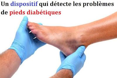 Ils développent un dispositif qui détecte les problèmes de pieds diabétiques