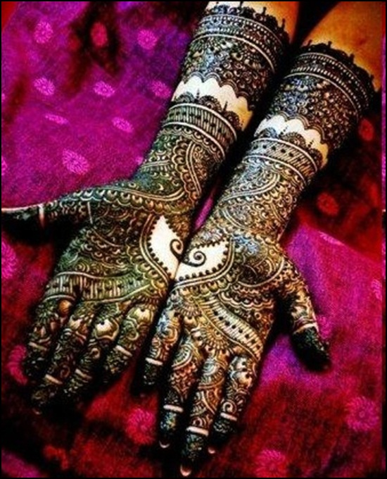 50 Glitter Mehandi Designs Images For Hands And Feet