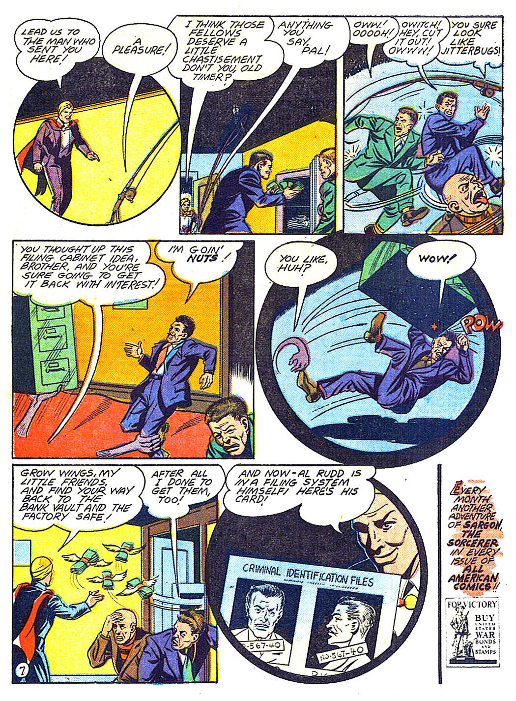 Read online All-American Comics (1939) comic -  Issue #50 - 59