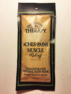 Village Naturals Therapy Aches + Pains Muscle Relief Concentrated Mineral Bath Soak