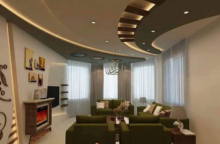 Living Room Decorative Ceiling Ideas, That Are Worth Seeing It
