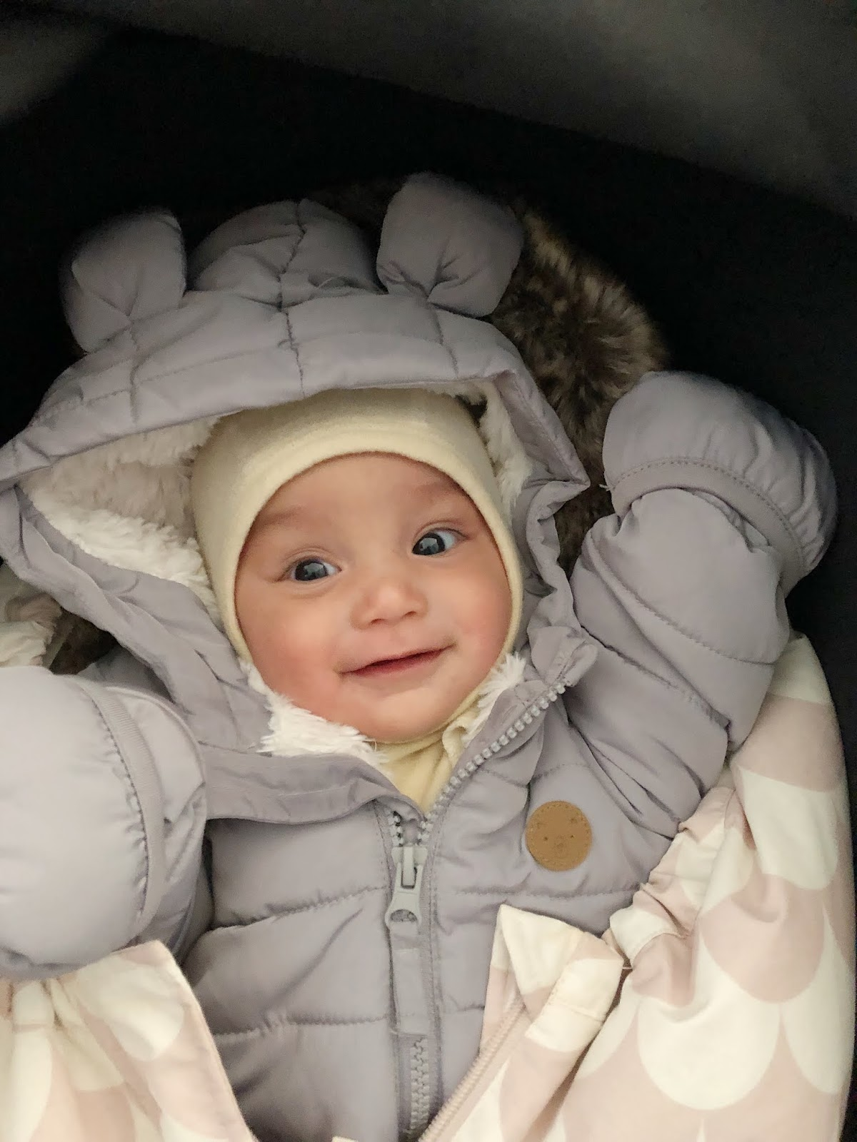itkuinen vauva 3kk
