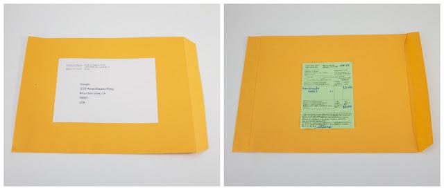 (分享)從台灣寄 國際郵件/國際包裹寄送方式- 信封正反面