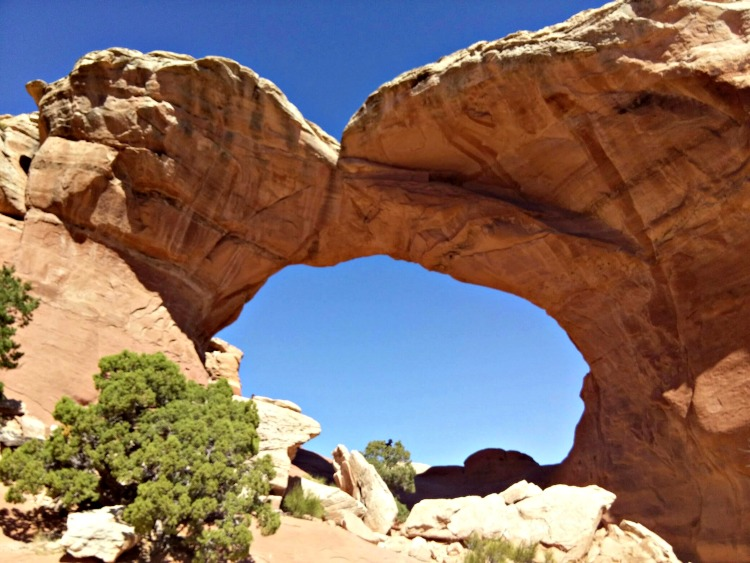 Base of Broken Arch