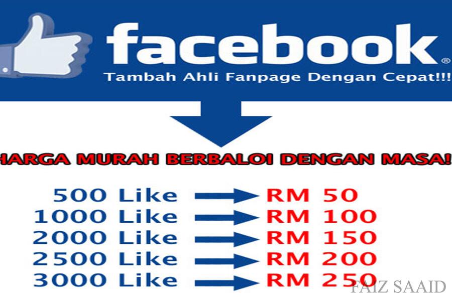 cara like banyak fanpage likers berjuta juta