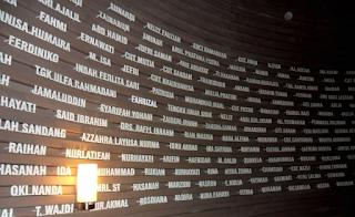 Sumur Doa Meseum Tsunami Aceh