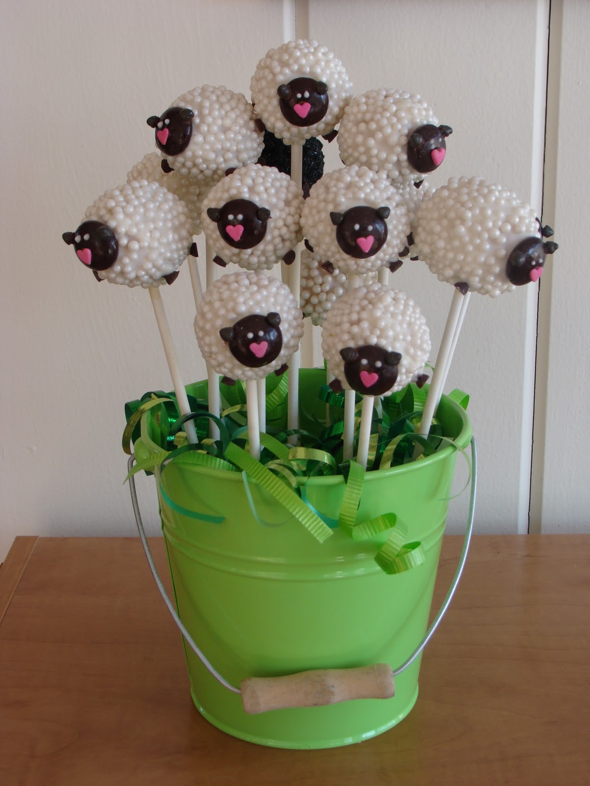 Sweet Treats By Bonnie Sheep Cake Pops