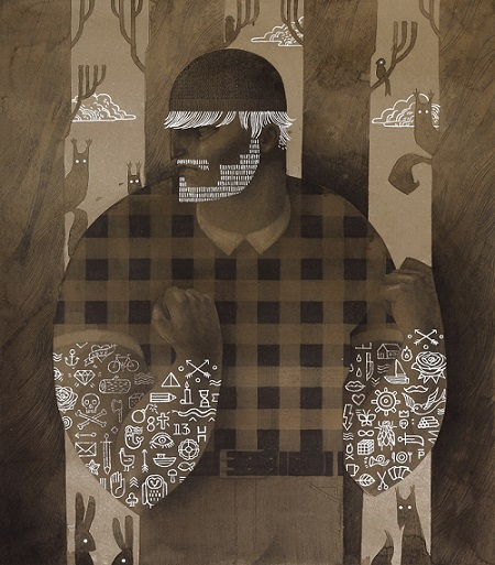 "Patrycja Podkościelny, ""Lumberjack"" 