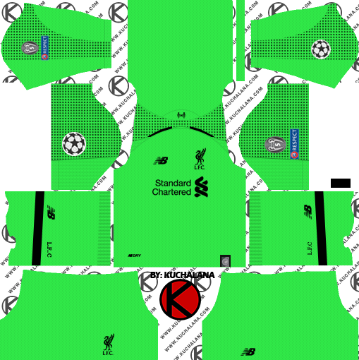 17d4dbc35d6 Liverpool FC 2018 19 Kit - Dream League Soccer Kits - Kuchalana