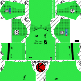 Liverpool FC 2018/19 UCL Kit - Dream League Soccer Kits