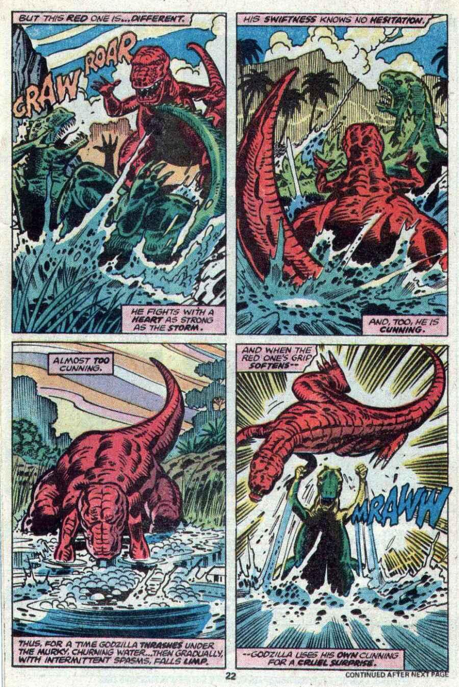 Godzilla (1977) Issue #21 #21 - English 14