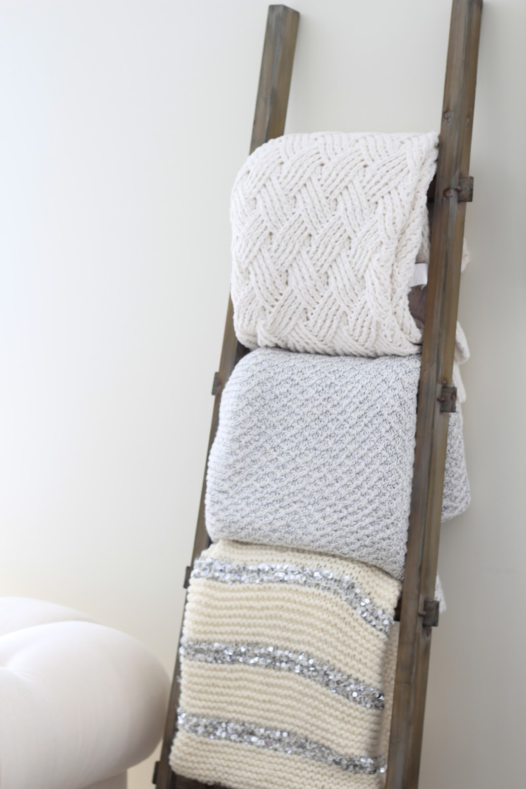 magnolia blanket ladder