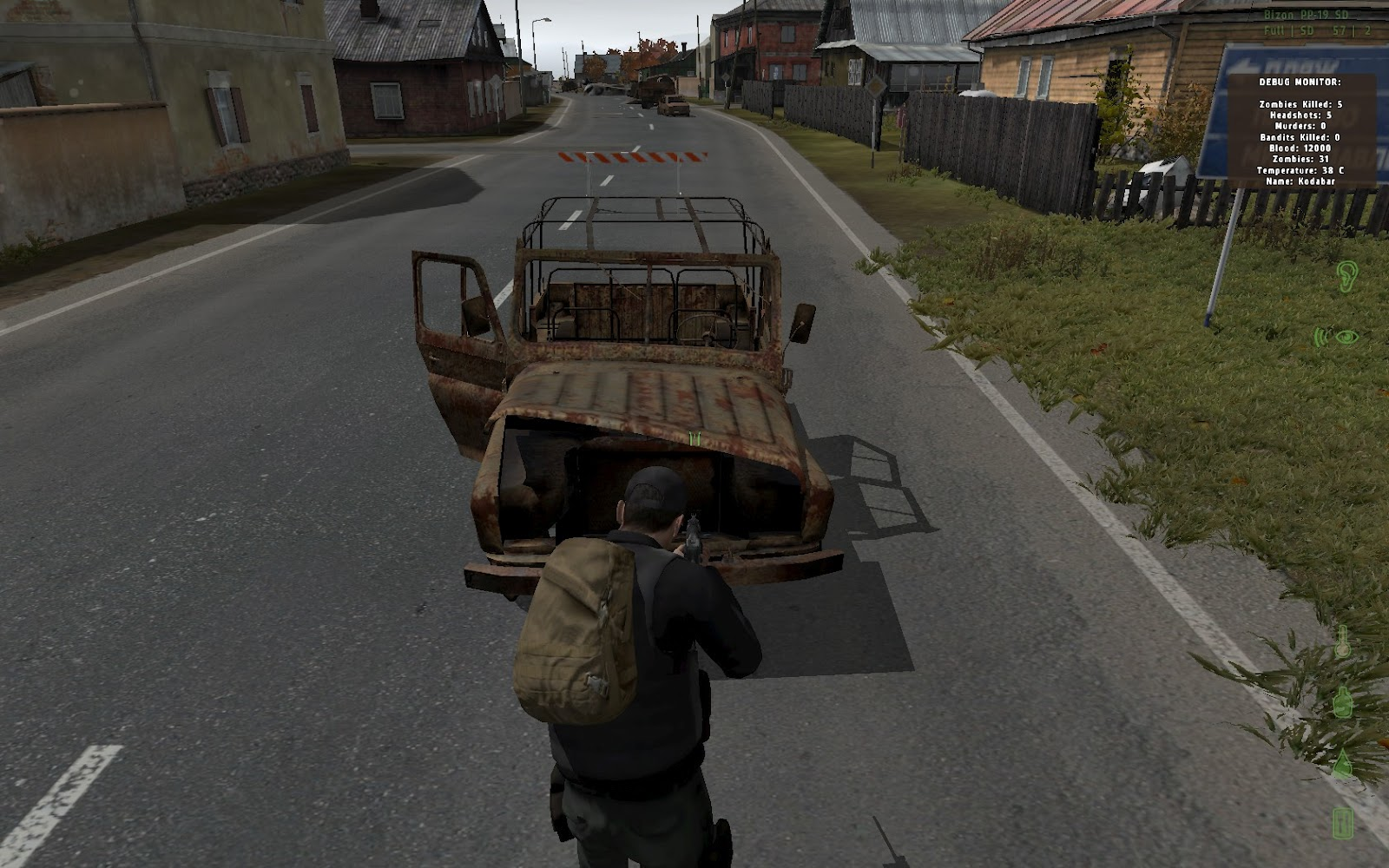 arma 2 how to carry