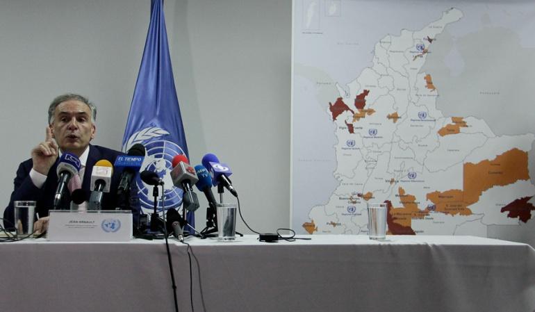ONU recibirá otras mil armas de las Farc