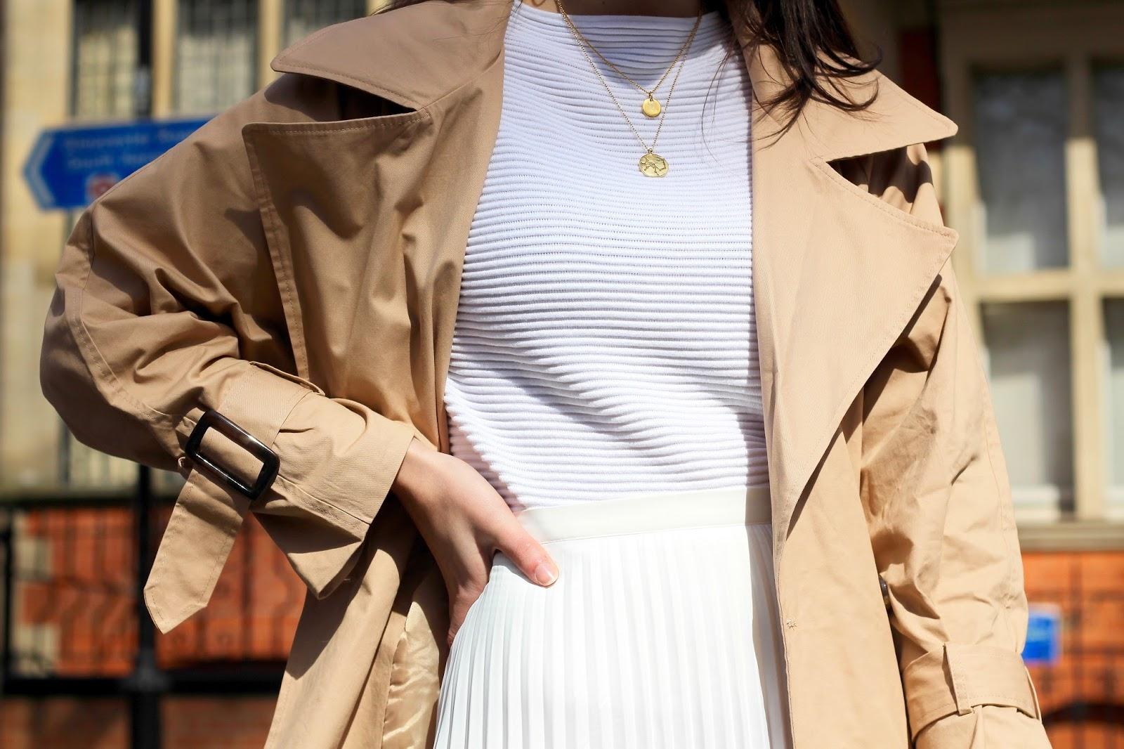 white clothing peexo spring style
