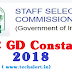 SSC GD Constable Recruitment 2018 - Fill application form of SSC GD Constable 2018 before last date to prevent rush