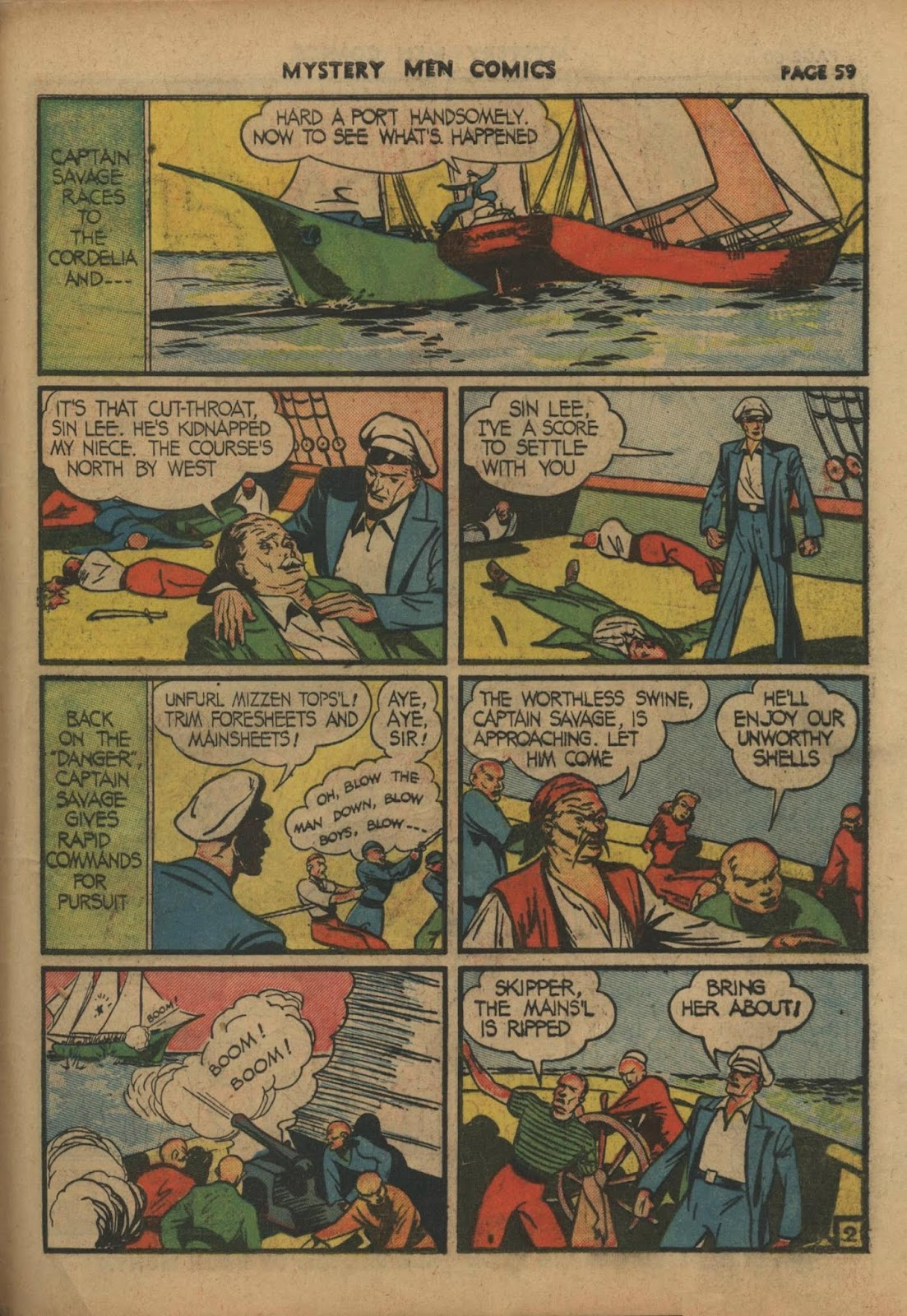 Mystery Men Comics issue 10 - Page 61