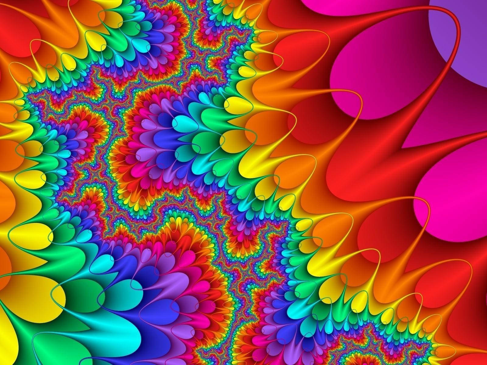Backgrounds Hd Tie Dye Colorful Vortex Swirls Wallpaper: Abstracte Achtergrond Veel Kleuren