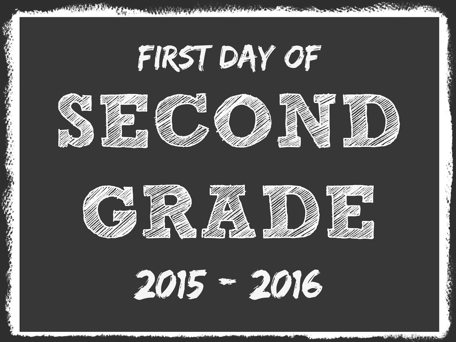 The Mandatory Mooch First Day Of School Free Printables