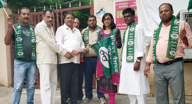Bheema Shrivastav, Sanjay Shrivastav spokesman Thakur Umesh Bhatti welcomed the INLD