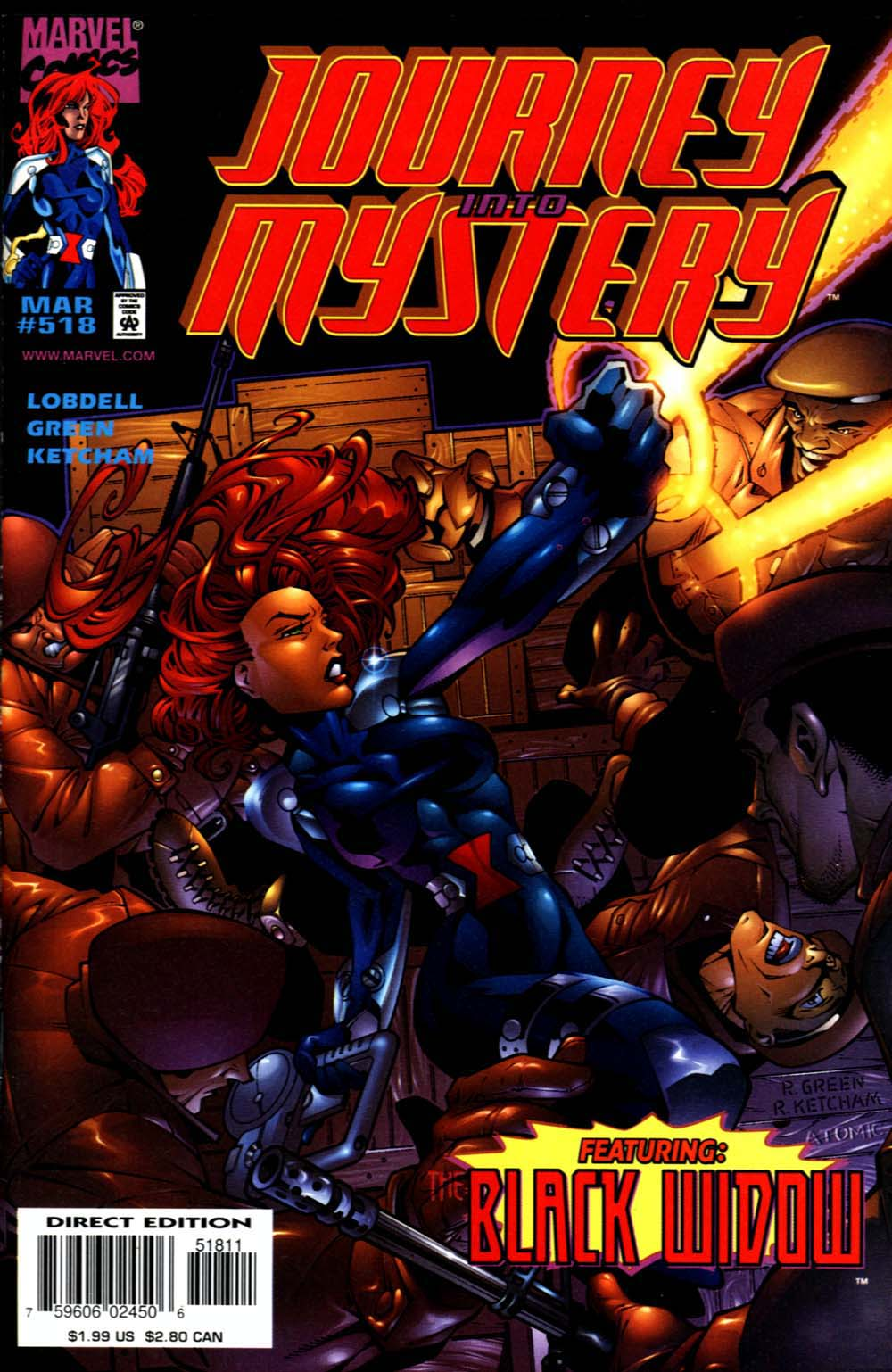 Journey Into Mystery (1996) issue 518 - Page 1
