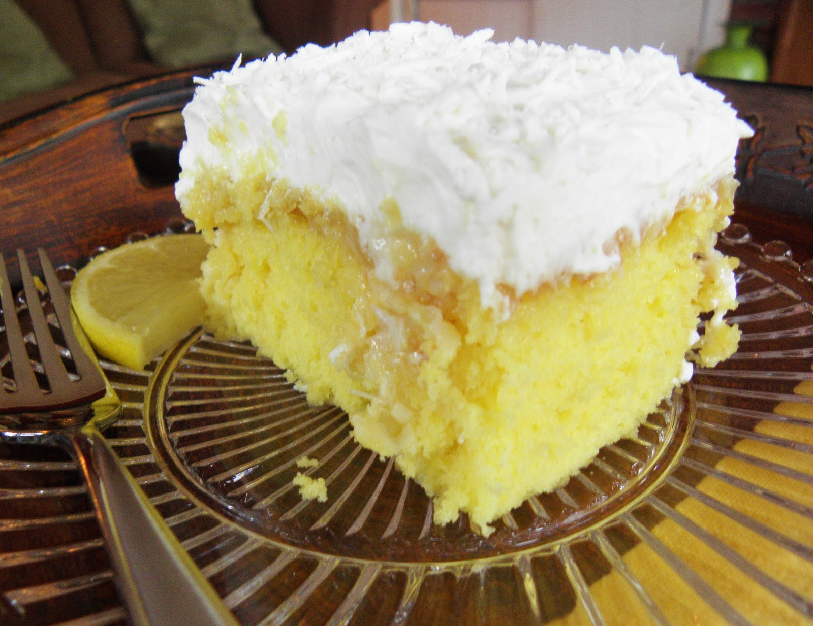 Easter Cake Lemon Curd