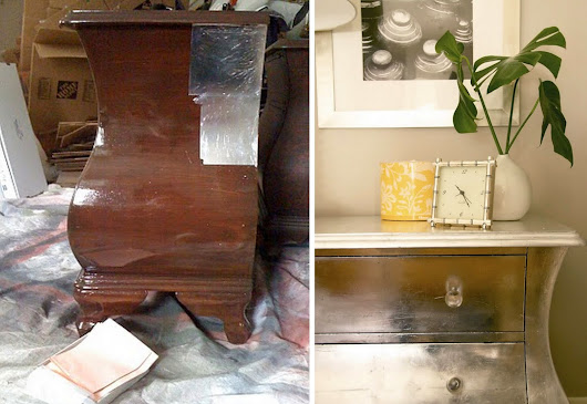 Making Your Own DIY Silver Leaf Furniture