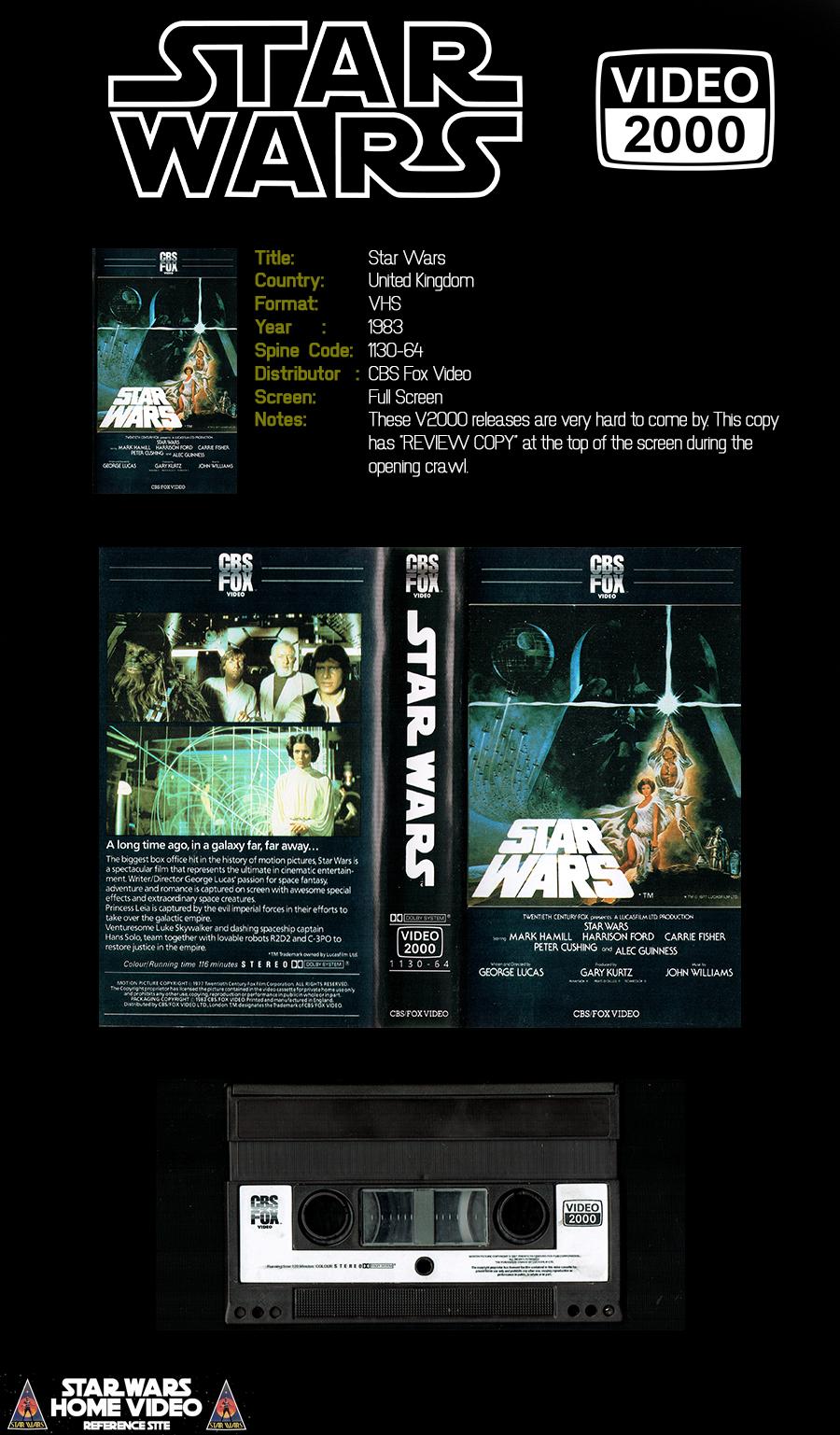 V2000 Star Wars