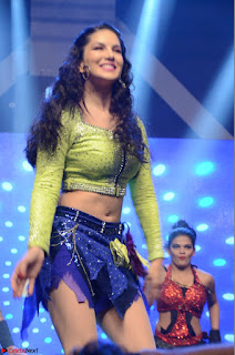 Sunny Leone Dancing on stage At Rogue Movie Audio Music Launch ~  104.JPG