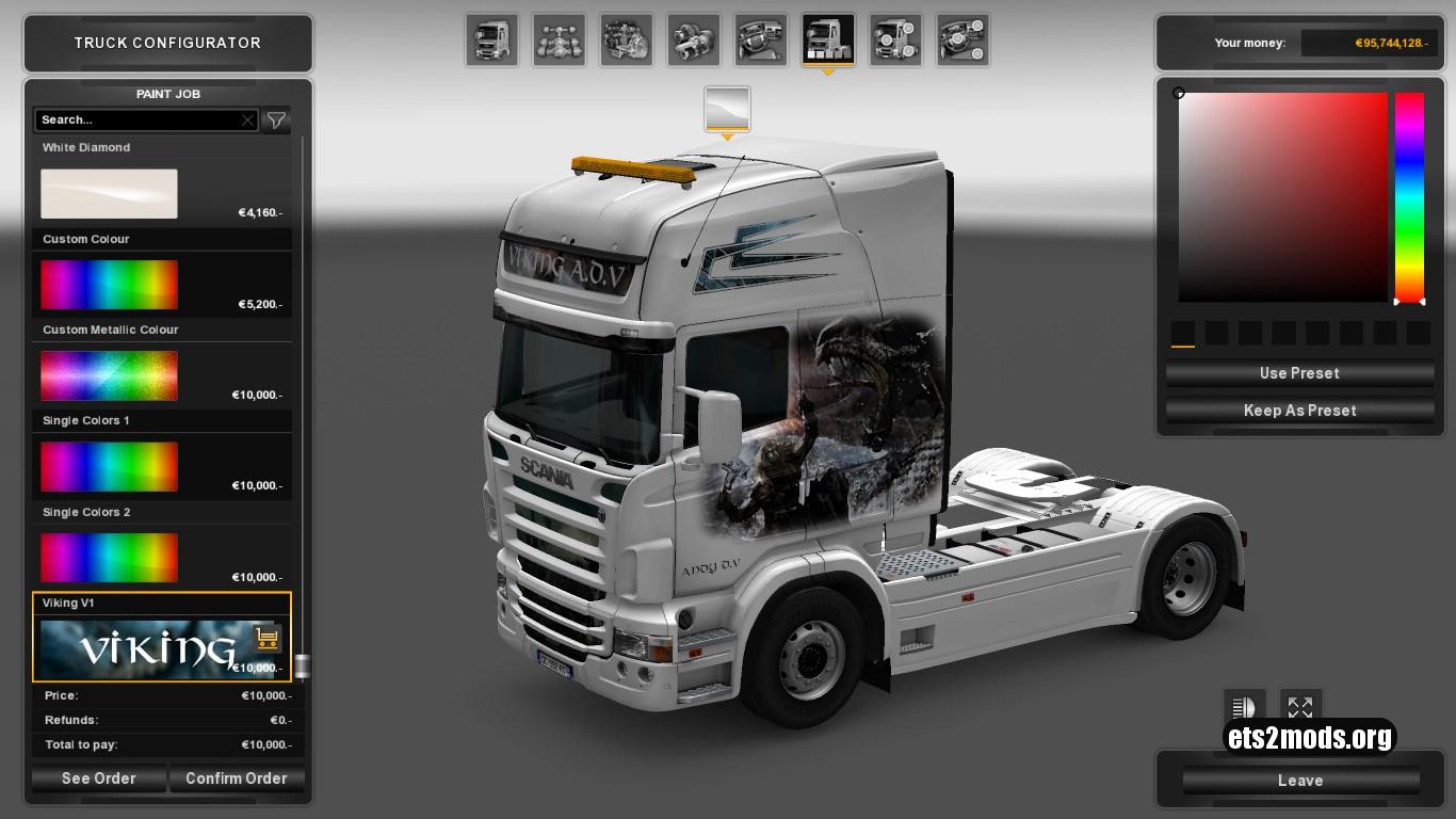 Viking Skin for Scania RJL