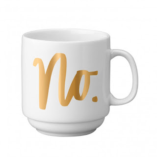 Easy Tiger Co. No Gold Stackable Mug at Swank Boutique