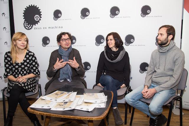 konferencja prasowa przed premierą spektaklu ONY w ramach projektu DEUS EX MACHINA